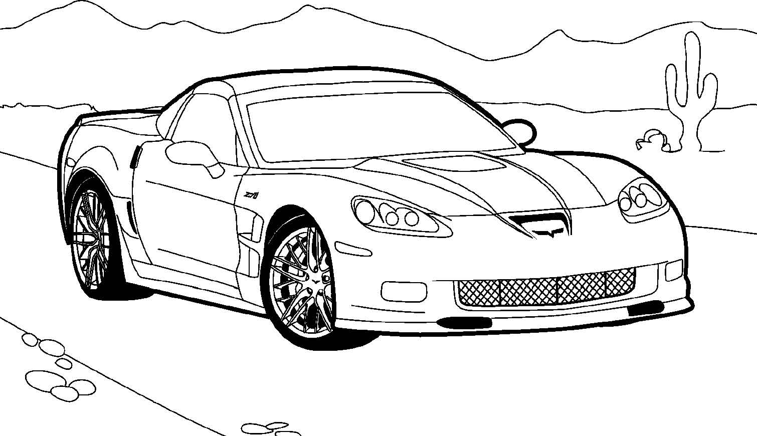 1510x870 Clip Art Corvette Clip Art