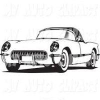 200x200 Corvette Clipart
