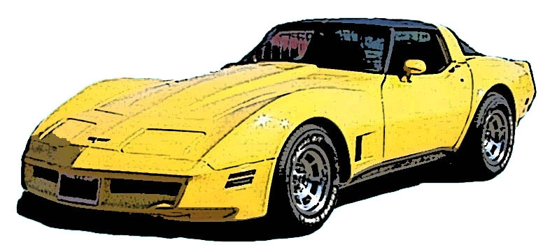 796x354 Corvette Clipart Free Clipartson