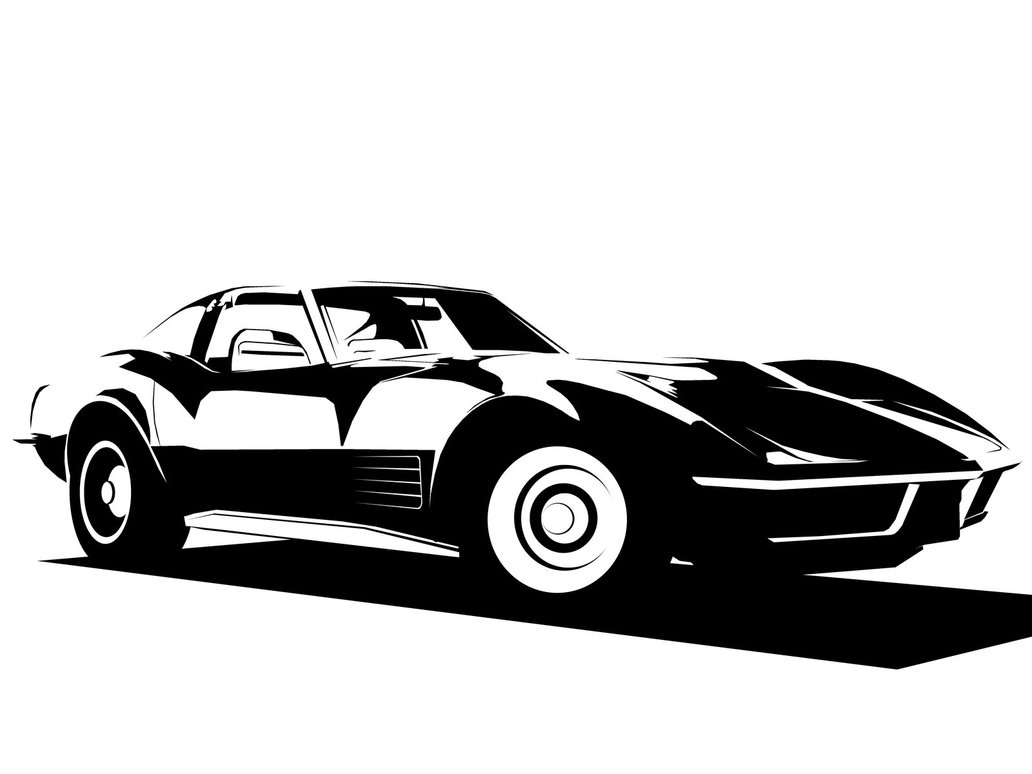 1032x774 Corvette Stingray Clipart