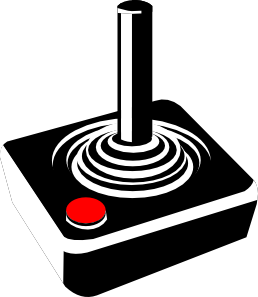 258x297 Retro Joystick Clip Art Is Clipart Panda