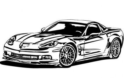 425x269 2015 Corvette Clipart