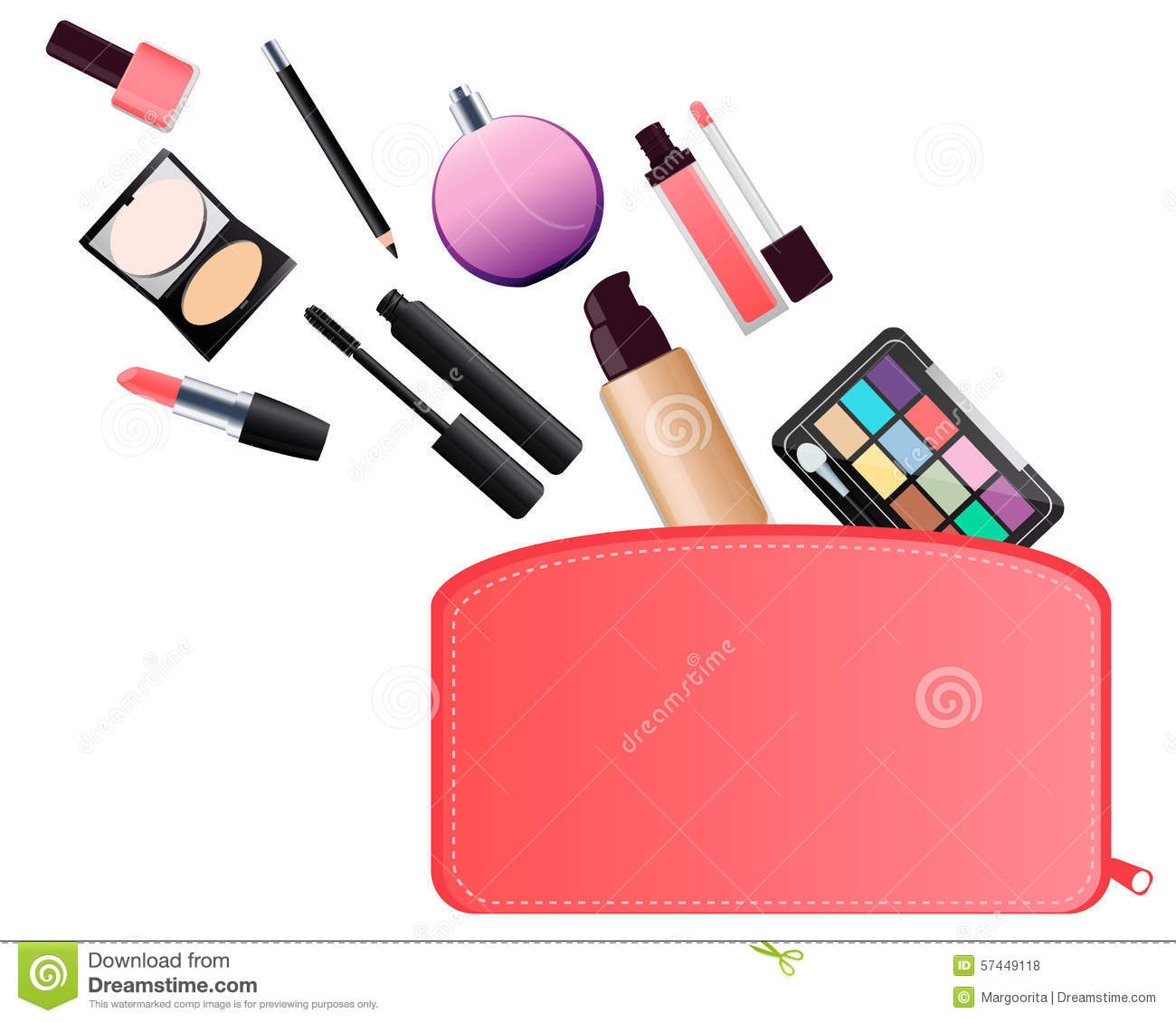 1300x1130 Makeup Clipart Makeup Bag