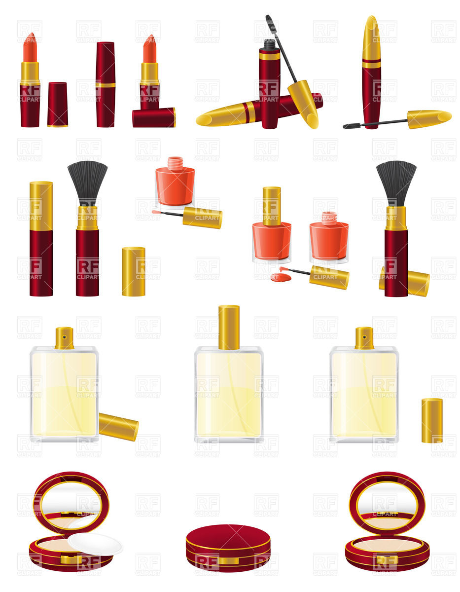 Makeup Clip Art: Free Download Best Cosmetics Clipart
