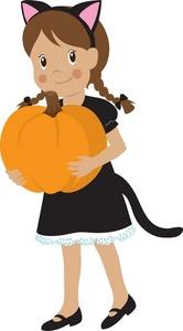 166x300 Halloween Costume Clipart Image
