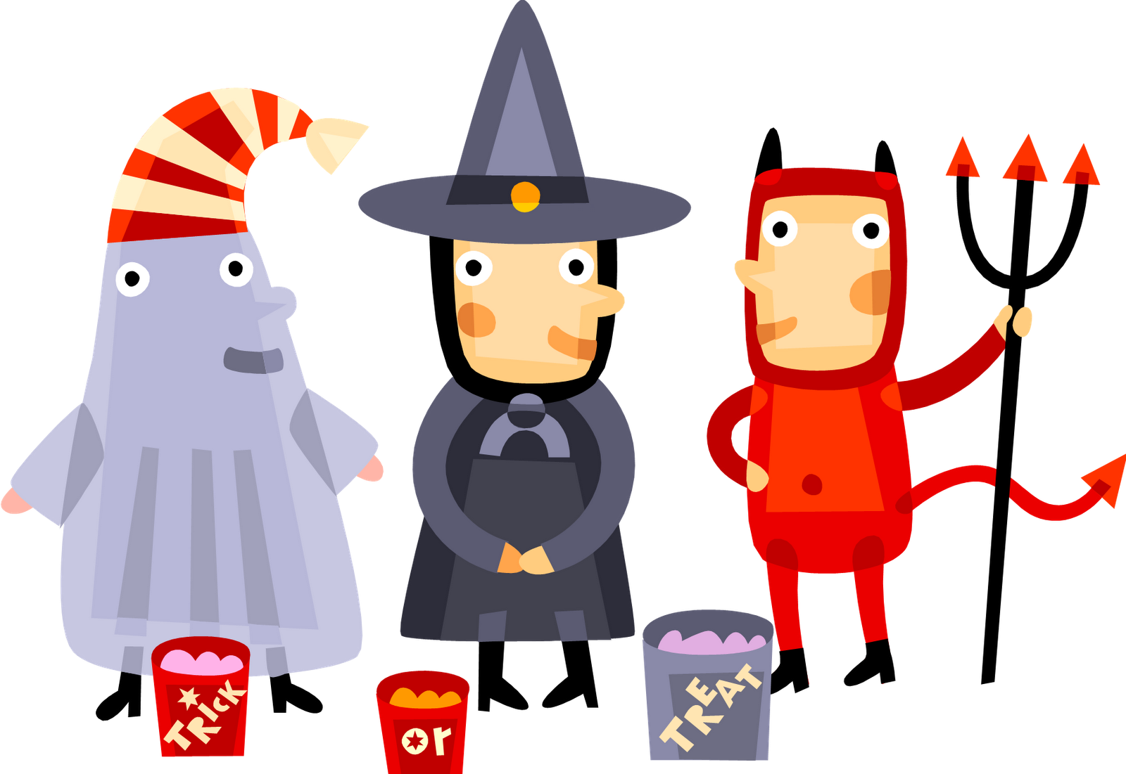 1600x1101 Kids Halloween Party Clipart