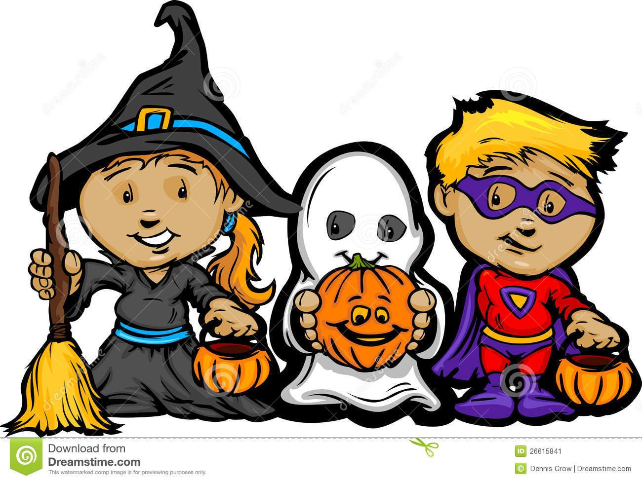 1300x977 Kids In Halloween Costume Clipart
