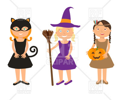 400x333 Little Girls In Halloween Costumes