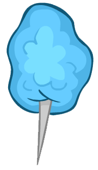 193x335 Cotton Candy Clipart Blue