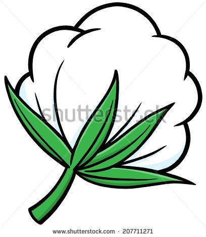 408x470 Cotton Clipart Cotton Plant