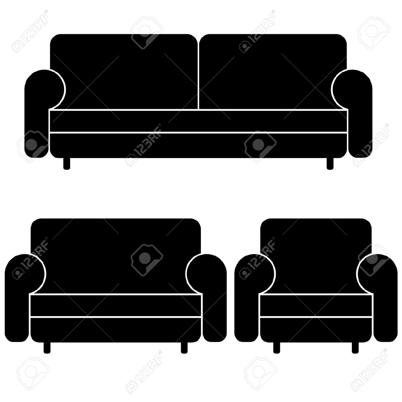 Couches Clipart