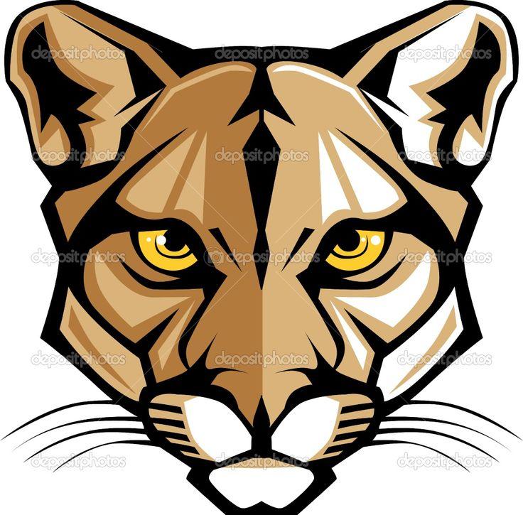 736x725 Cougar Clipart Cougar Head