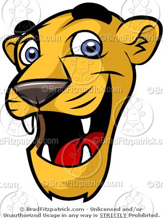 324x432 Need A Cartoon Cute Cougar Mascot Check Out Our Cute Cougar