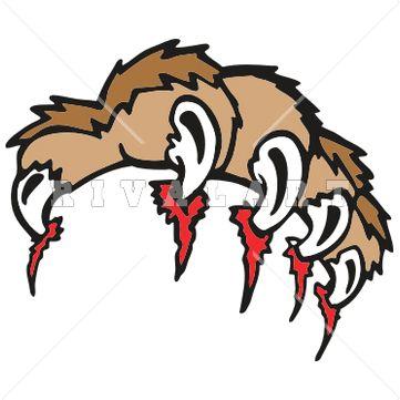 Cougar Mascot Clipart