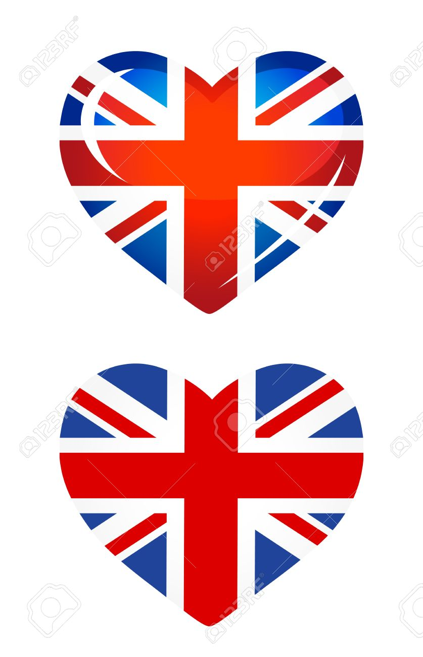 837x1300 British Flag Clipart England Country