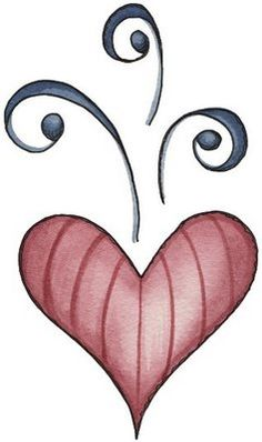 236x398 Clipart Country Hearts