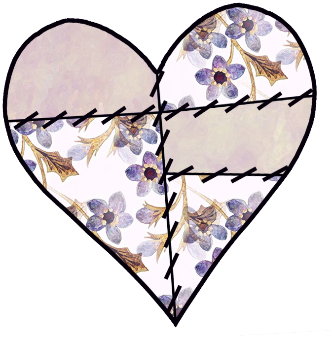 675x686 Purple Love Heart Clipart