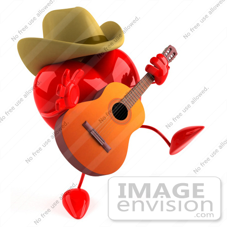 450x450 Royalty Free (Rf) Illustration Of A 3d Red Love Heart Mascot
