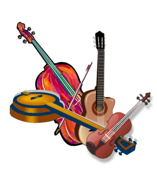 601x644 Bluegrass Clipart