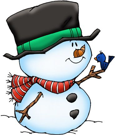 369x432 Christmas Snowman Clipart, Explore Pictures