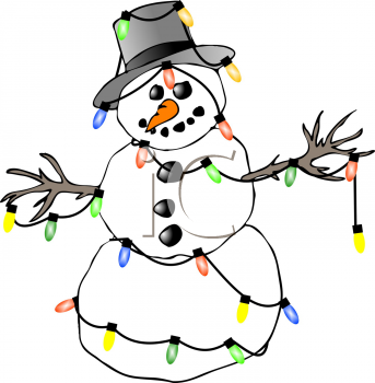 343x350 Graphics For Funny Christmas Snowman Graphics