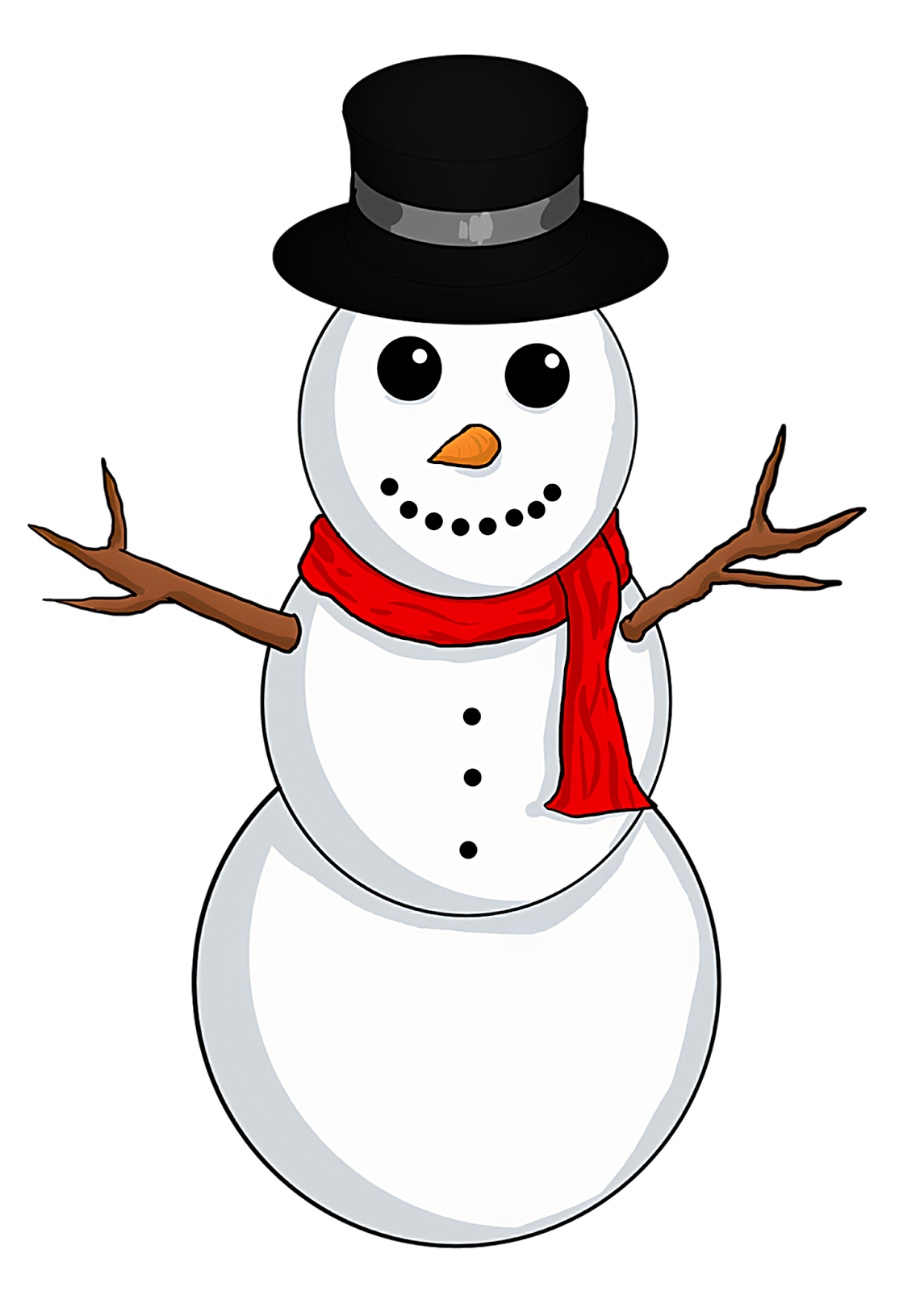 1145x1600 New Year Clipart Snowman