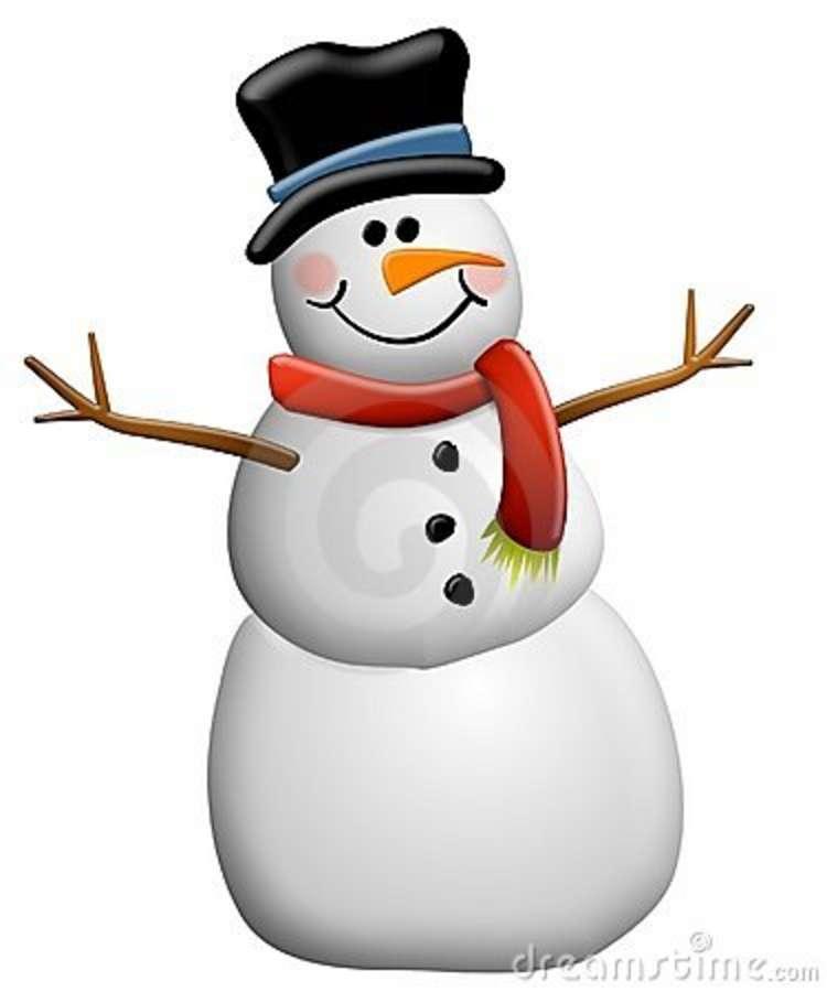 750x900 Snowman Clipart