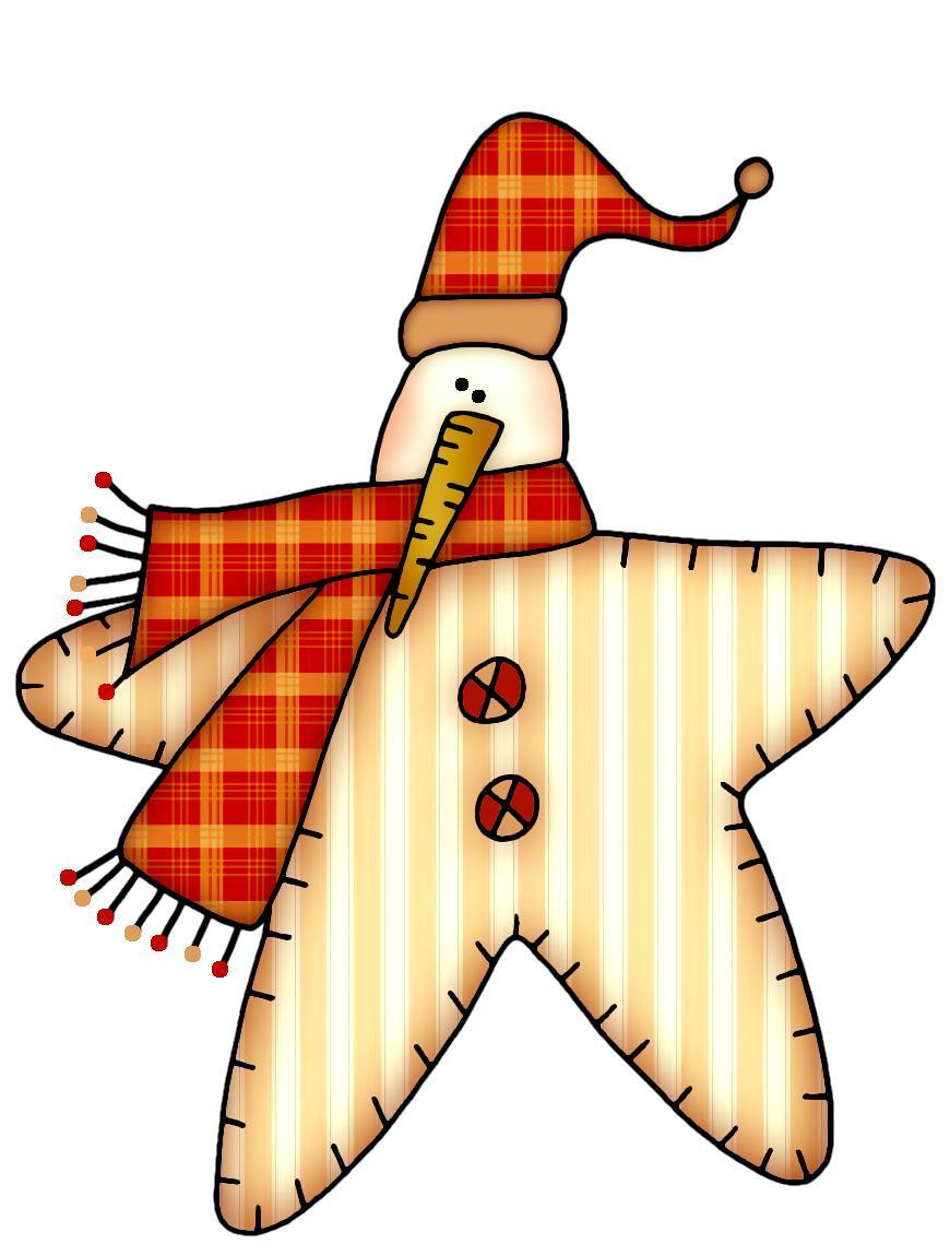 870x1150 Winter Snowman Star Clip Art Clip Art