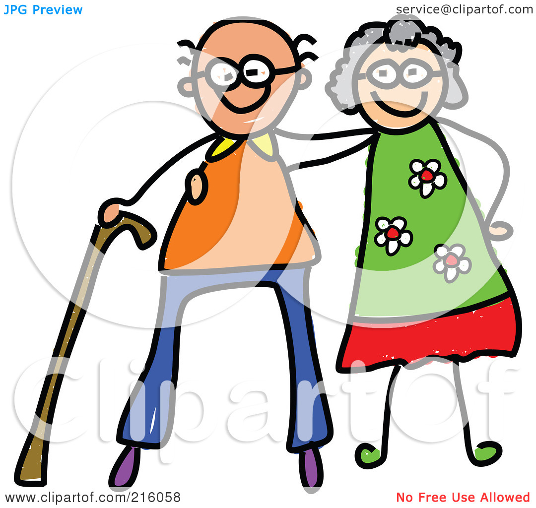 1080x1024 Couple Clipart Old Couple