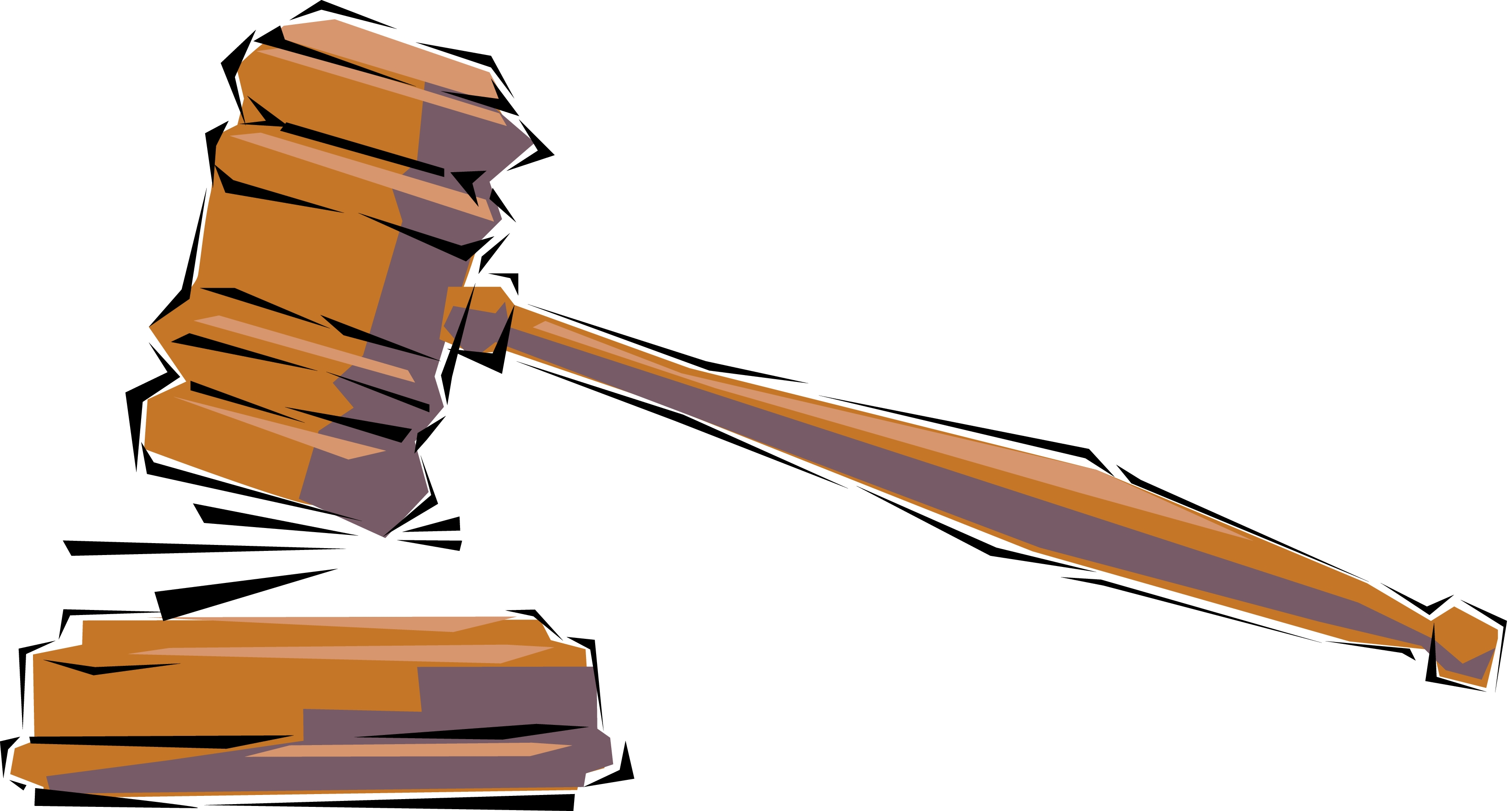 Court Gavel Cliparts