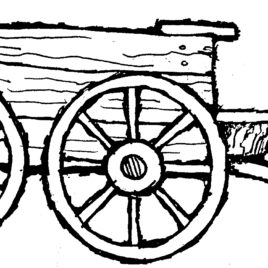 268x268 Farm Wagon Coloring Page Kids Drawing And Coloring Pages