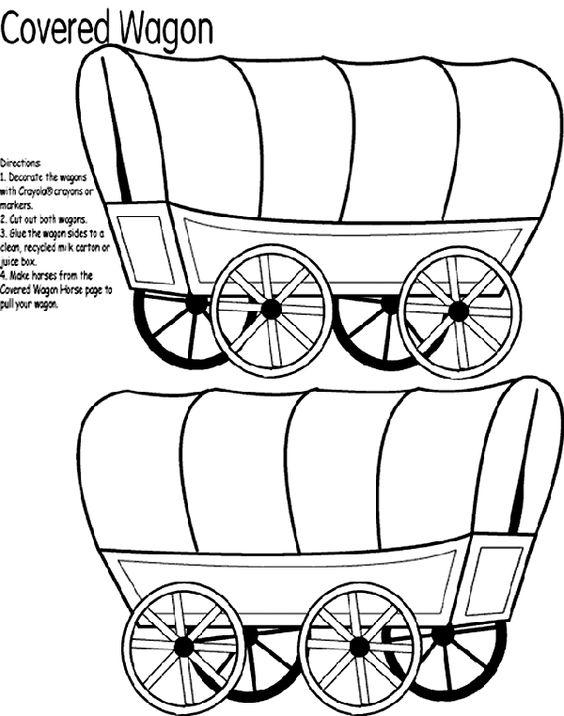 564x716 Horse And Covered Wagon Clipart