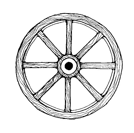 561x557 Mormon Share } Wagon Wheel