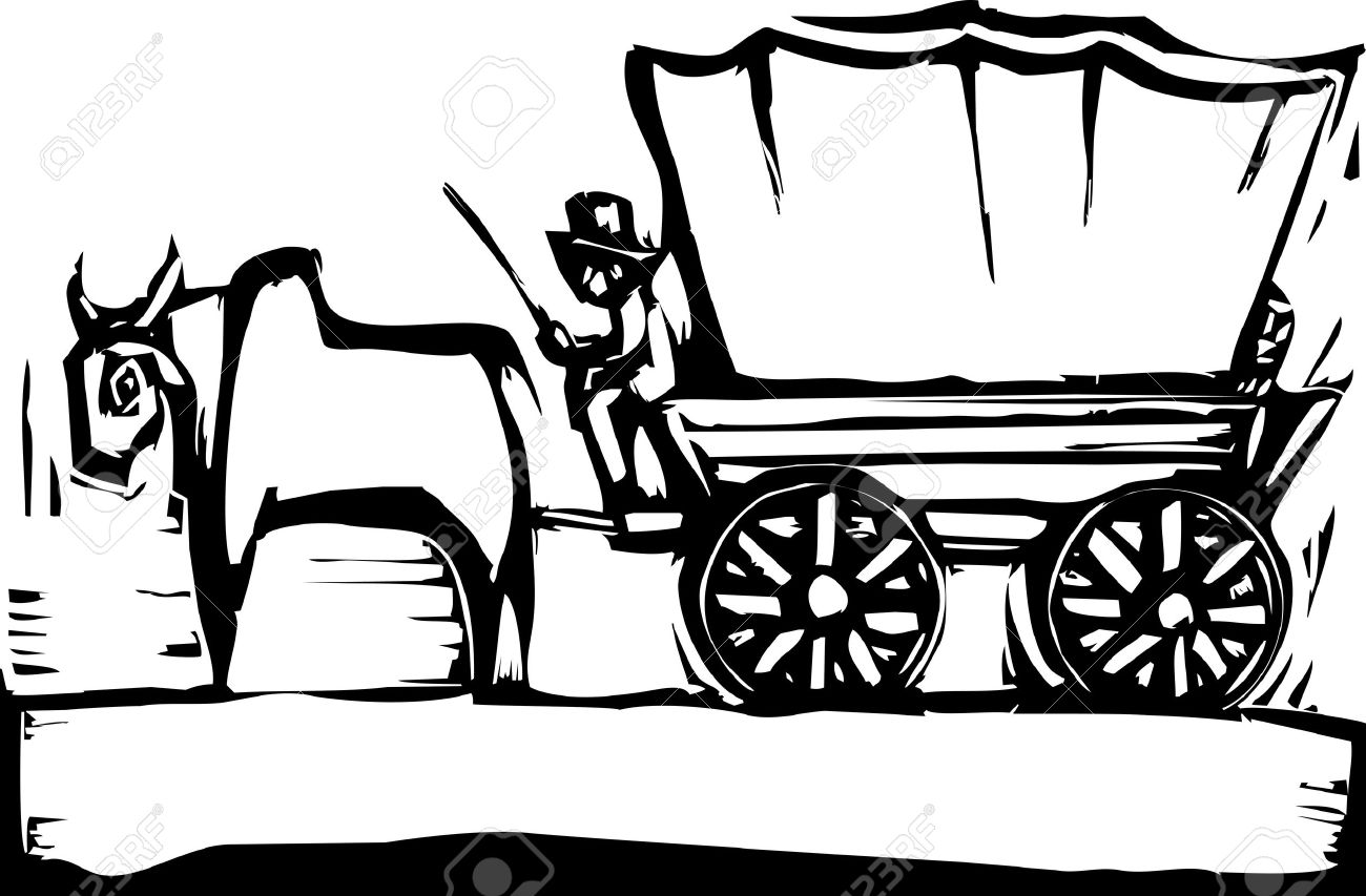 1300x853 Ox Clipart Ox Wagon