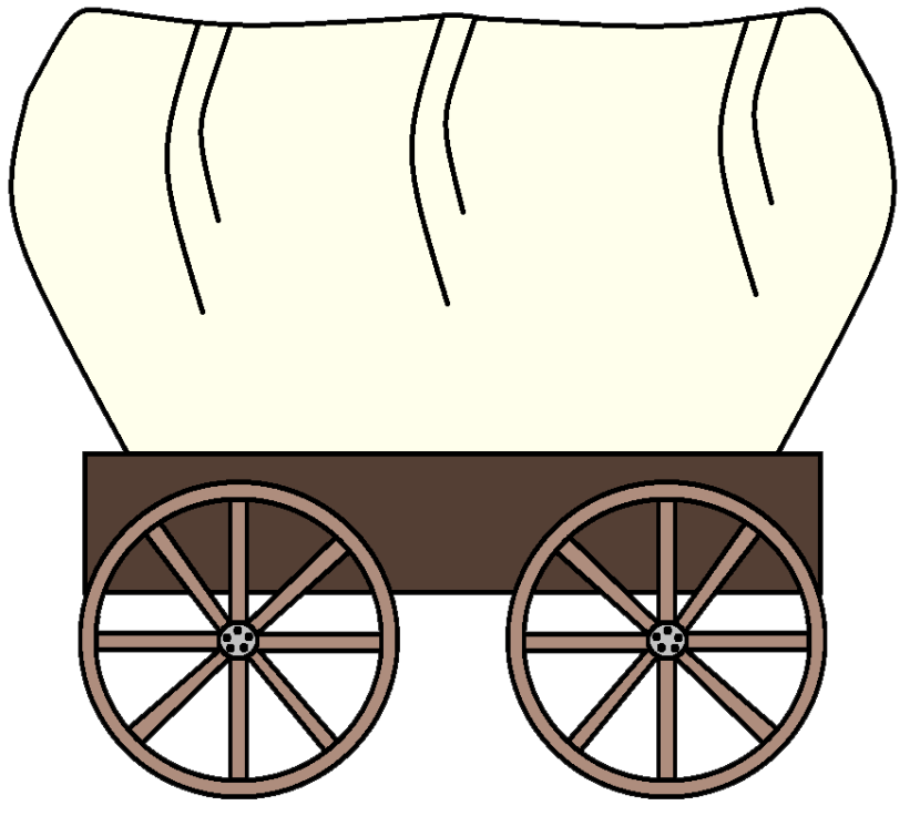 830x736 Pioneer Clipart Covered Wagon