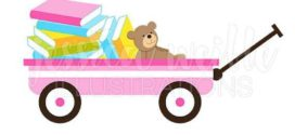 272x125 Free Clip Art Of Pioneer Wagon Clipart