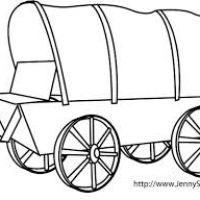 200x200 Covered Wagon Clipart