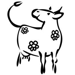 260x260 Cow Vector Images Silhouette, Cartoon, More Free Download
