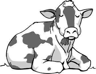 337x259 Cow Clip Art