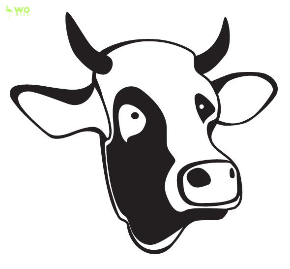 590x546 Cow Face Clip Art