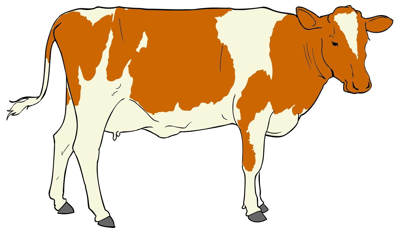 1280x748 Astonishing Cow Clipart Clip Art Images