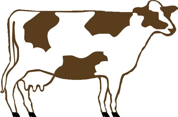600x397 Cow 5 Clip Art