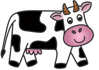 320x226 Free Cartoon Cow Clip Art Free Images