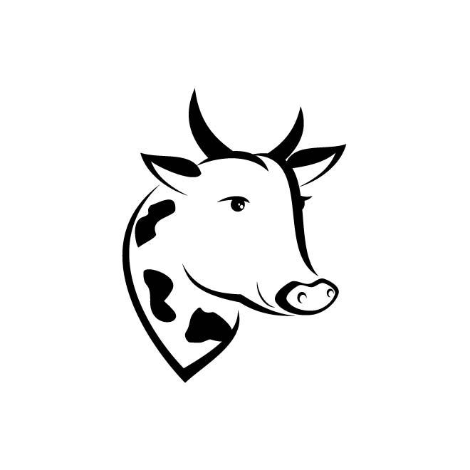 660x660 Cow Clip Art