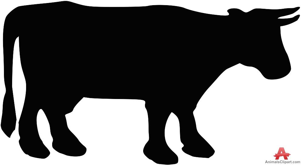 999x545 Cow Silhouette Cow Clipart Silhouette Clipartfest