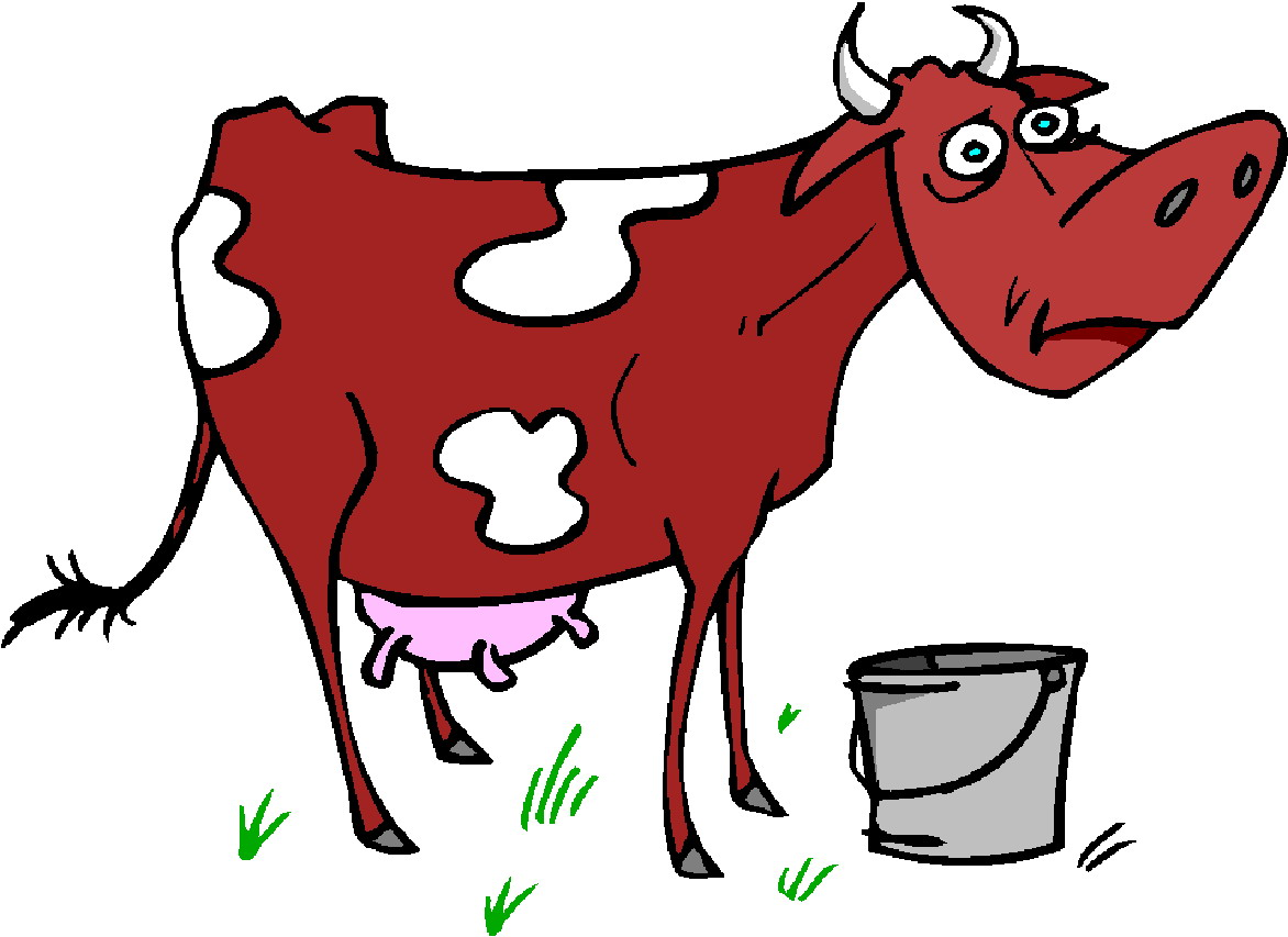 1172x853 Red And White Cow Clipart