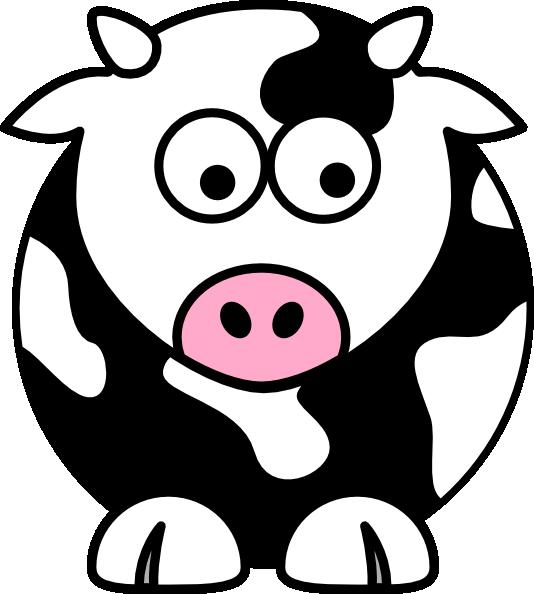 534x594 Black Cow Clip Art