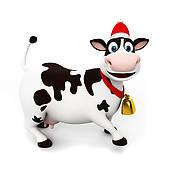 170x170 Cow Clip Art For Christmas Fun For Christmas