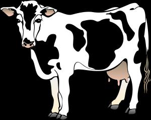 300x238 Cow Clip Art Free Cartoon Clipart Panda