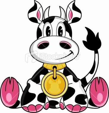 367x380 Cute Cow Clipart